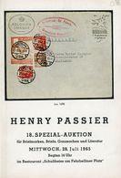 18. Passier  Auktion 1965 - Auktionskataloge