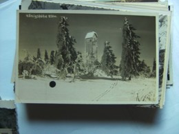 Tsjechië Ceskoslovensko Czech Rep. Königshöhe Isergebirge Aussichtsturm - Tsjechië