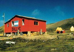 1 AK Antarktis Antarctica * Die Argentinische Station Ballve Auf Der Insel Ardley * - Ansichtskarten