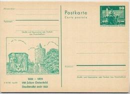 Stadtmauer Osterfeld 1979 DDR P79-27b2-79 C101-c Postkarte Zudruck - Otros