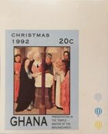 Ghana 1992 Christmas Imperf. - Ghana (1957-...)