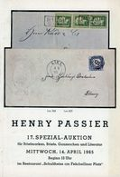 17. Passier  Auktion 1965 - Auktionskataloge