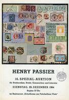 16. Passier  Auktion 1964 - Auktionskataloge