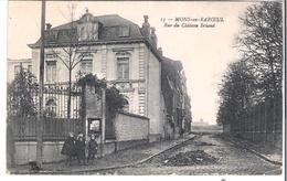 CPA NORD  MONS-EN-BAROEUL Rue Du Château Briand   LS Hautmont N°13 (pli D'angle ) - Autres Communes