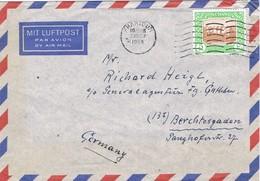 29913. Carta Aerea KHARTOUM (Sudan) 1954. Grand Hotel - Sudan (1954-...)