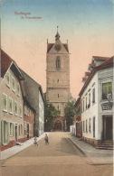 Color-Ansichtskarte Endingen St. Peterskirche 1917 Gelaufen - Endingen