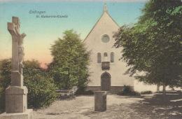 Color-Ansichtskarte Endingen St. Katharina-Kapelle 1917 Gelaufen - Endingen