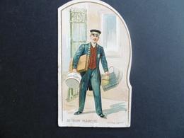 CHROMO  Au Bon MARCHE  -  1902  -    Avec Soufflet - Au Bon Marché