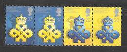 """Gran Bretagna 1990 25° Anniversario Del """"Queen's Award""""  Serie Completa Nuova/mnh** - 1952-.... (Elisabetta II)"""