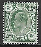 TRANSVAAL     -    1906 .   Y&T N° 177 * - Transvaal (1870-1909)