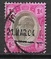 TRANSVAAL     -    1904 .   Y&T N° 165 Oblitéré - South Africa (...-1961)