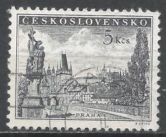 Czechoslovakia 1953. Scott #619 (U) Charles Bridge And Prague Castle * - Tchécoslovaquie