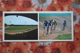 """RUSSIA. TULA. """"50-letiya VLKSM"""" Stadium -stade.  Field. 1977 Long Format - VELODROME. BICYCLE - Stadi"""