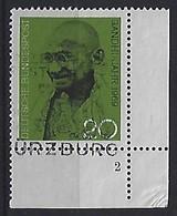 Germany 1969  Mahatma Gandhi (o) Mi.608 (Form Nr.2) - Used Stamps