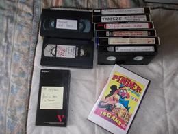 Lot De 10 K7 VHS Sur Le Cirque Collection Alain Nénert Dont 3 Pinder - Video Tapes (VHS)