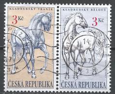 Czech Republic 1996. Scott #2993a (U) Horses * Complet Set - Tchéquie