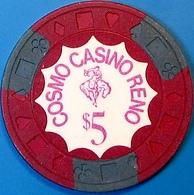 $25 Casino Chip. Cosmo, Reno, NV. 1970. M92. - Casino