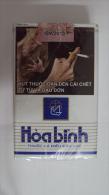Vietnam Viet Nam Hoa Binh Empty Soft Pack Of Tobacco Cigarette - Empty Cigarettes Boxes