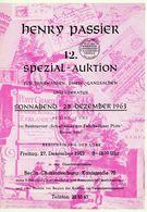 12. Passier  Auktion 1963 - Auktionskataloge
