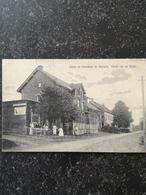 Houthem - St.Gerlach // Groet Uit // Hotel Van De Wijer // Gelopen 1914 Zeldzaam / Kaart Iets Slap - Autres