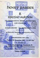 8. Passier  Auktion 1962 - Auktionskataloge