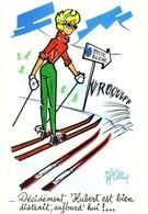 COLLINE Jeff   Ed Espigue Marseille  N°331 -  HUMOUR   Ski Hubert   -  CPSM  10,5x15  TBE Neuve - Künstlerkarten