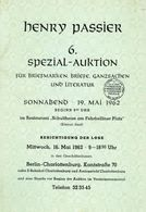 6. Passier  Auktion 1962 - Auktionskataloge