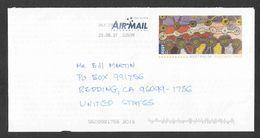Australia - Air Mail Cover - Used - Prepaid Postage -  2017 (1) - 2010-... Elizabeth II