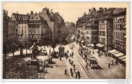 67 - STRASBOURG - Place Gutenberg (Tramway) - Strasbourg