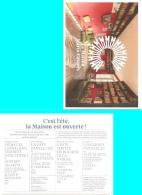 Carte-programme - La Maison De Maria Casarès - Domaine De La Vergne - Alloue 17 Juillet Au 17 Août 2018 - (16) - Programmi