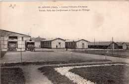AVORD CENTRE MILITAIRE D'AVIATION CORRESPONDANCE DE PIERRE BRUNEL AVIATEUR TENNIS  ET GARAGE DU PILOTAGE 1917 TBE - Avord