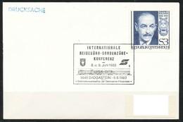 Österreich-   Int. Reisebüro-Sonderzüge-Konferenz  Eisenbahn, 5640 Badgastein - Poststempel - Freistempel