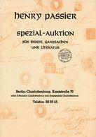 4. Passier  Auktion 1961 - Auktionskataloge