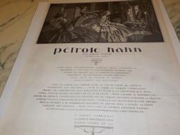 ANCIENNE PUBLICITE POUR LES  CHEVEUX LONG PETROLE HAHN   1922 - Perfume & Beauty