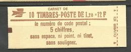 CARNET TYPE SABINE N° 1974-C 2 NEUF** LUXE SANS CHARNIERE / MNH - Carnets