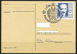 Österreich- Ganzsachen-  100 Jahre Polarforschung, 1150 Wien - Interi Postali