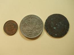 3 Pieces * Lot Nº9 - Monnaies & Billets