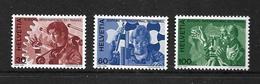 SUISSE 1975 BUREAU INTERNATIONAL DU TRAVAIL  YVERT N°S443/45  NEUF MNH** - Suisse