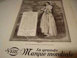 ANCIENNE PUBLICITE FEMME UNIVERS EAU DE COLOGNE 4711 1930 - Perfume & Beauty