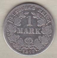Empire. 1 Mark 1875 A (BERLIN) , En Argent - [ 2] 1871-1918: Deutsches Kaiserreich