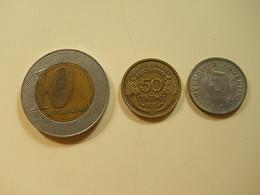 3 Pieces * Lot Nº18 - Monedas & Billetes