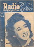 RADIO-REVUE - PROGRAMMES Des EMISSIONS De RADIO MARS 1945 -en Couverture CORA VAUCAIRE Chanteuse -  + 4 Autres Documents - Books, Magazines, Comics