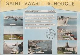 50 - SAINT VAAST LA HOUGUE - Souvenir - Saint Vaast La Hougue