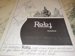 ANCIENNE PUBLICITE BIBELOT A LA MODE ROBJ PARIS 1923 - Other Collections