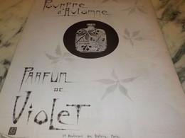 ANCIENNE PUBLICITE PARFUM LE CHYPRE DE VIOLET 1923 - Perfume & Beauty