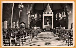 """Binnenzicht Kerk Van Zwartberg - Ingevoerd Produkt """" Scandinavia """" - Fa. C. DIRIX WERCK - 1957 - Genk"""