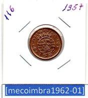 [*116*] - Ex/Colonia Angola Portuguesa 50 Centavos 1957 Angola Portuguesa - Colonia - Angola