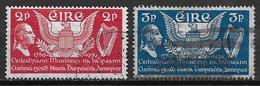Irlande 1939 N°75/76 Oblitérés Constitution Des Etats Unis - Used Stamps