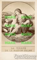 Santino Antico LA VIERGE DE LA MAISON D'ALBE - OTTIMO P74 - Religione & Esoterismo