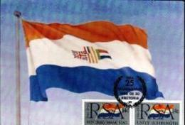 RSA, 1986, Mint Maxi Cards, MI Nr. 42, Republic 25 Year - Covers & Documents